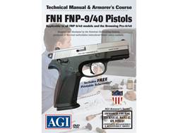 "American Gunsmithing Institute (AGI) Technical Manual & Armorer's Course Video ""FNH FNP9/ FNP40 S..."