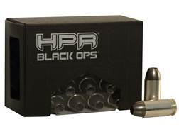 HPR HyperClean BlackOps Ammunition 40 S&W 105 Grain Open Tipped Frangible Lead-Free Box of 20