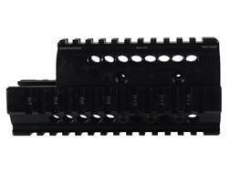 Midwest Industries 2-Piece Handguard Quad Rail Yugo AK-47 Aluminum Black