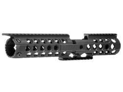 "Troy Industries 12"" Delta Battle Rail 2-Piece Modular Free Float Handguard AR-15 Black"