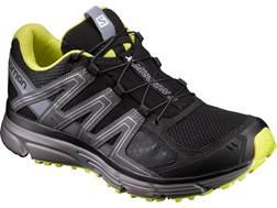"Salomon X-Mission 3 4"" Trail Running Shoes Synthetic Black/Magnet/Sulphur Spring Men's 9 D- Blemi..."