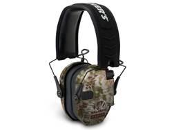 Walker's Razor Slim Low Profile Electronic Earmuffs (NRR 23dB) Kryptek Highlander