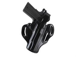 DeSantis Thumb Break Scabbard Belt Holster Left Hand Glock 41 Leather Black