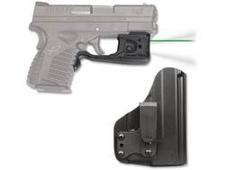 Crimson Trace Laserguard Pro Weapon Light White LED with Laser Sight Springfield XD-S Black