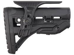 FAB Defense Recoil Reducing Stock with Adjustable Cheek Rest Collapsible Mil-Spec or Commercial D...