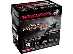 "Winchester Super-X Super Pheasant Ammunition 12 Gauge 2-3/4"" 1-3/8 oz #5 Copper Plated Shot"