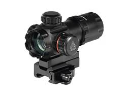 Leapers UTG Red Dot Sight 30mm 1x Red and Green Dot with Riser and Quick-Detach Weaver/Picatinny-...