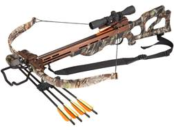 SA Sports Crusader Crossbow Package with 4x32 Multi-Range Scope NEXT G2 Camo