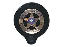 Gould & Goodrich B575 Badge Holder Leather Black