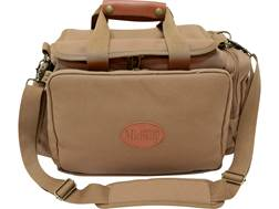 MidwayUSA Deluxe Cotton Canvas Rifle Range Bag Dark Khaki