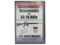 "American Gunsmithing Institute (AGI) Disassembly and Reassembly Course Video ""AR-15 Rifles"" DVD"