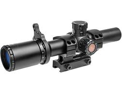 TRUGLO Tru-Brite Rifle Scope 30mm Tube 1-6x 24mm Illuminated Power Ring Duplex Mil-Dot Reticle wi...