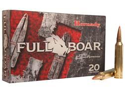 Hornady Full Boar Ammunition 7mm Remington Magnum 139 Grain GMX Boat Tail Lead-Free Box of 20
