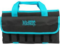 MidwayUSA Tactical Pistol Case Black and Teal