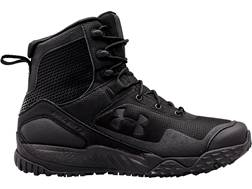 "Under Armour UA Valsetz RTS Side Zip 7"" Tactical Boots Leather and Nylon Black Men's"