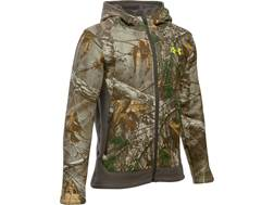 Under Armour Boy's UA Stealth Insulated Jacket Polyester Realtree Xtra Camo Youth Large