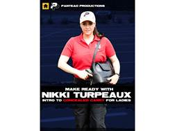 "Panteao ""Make Ready with Nikki Turpeaux: Intro to Concealed Carry for Ladies"" DVD"
