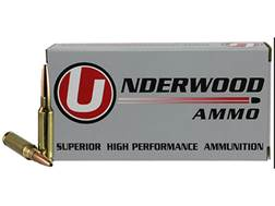 Underwood Match Grade Ammunition 6.5 Creedmoor 122 Grain Lehigh Controlled Chaos Lead-Free Box of 20