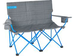 Kelty Love Seat Camp Chair Polyester and Steel Smoke and Blue