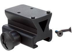 Trijicon RMR Picatinny Rail Mount Adapter 1/3 Lower Co-Witness with Colt Thumbscrew Matte