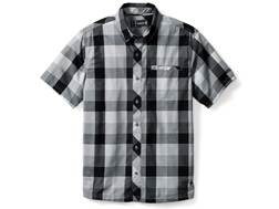 Smartwool Men's Summit County Retro Plaid Button-Up Shirt Short Sleeve Merino Wool/Cotton