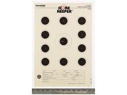 "Champion Score Keeper 50 Ft Air Gun Small Bore Targets 11"" x 16"" Paper Orange Bull Pack of 12"