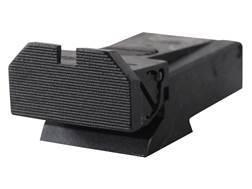 Kensight Adjustable Rear Sight Ruger Mark II, Mark III Steel Black Beveled Blade Fully Serrated