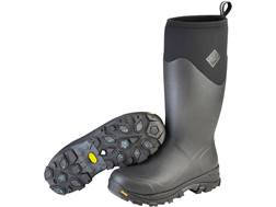 "Muck Arctic Ice 16"" Waterproof 8mm Insulated Hunting Boots Neoprene/Rubber Black Men's"