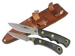 Knives of Alaska Alpha Wolf/Cub Bear Combination Fixed Blade Hunting Knife Set
