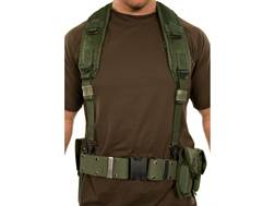Military Surplus ALICE Pistol Belt Kit with M12 Holster Grade 2 Olive Drab Large