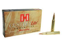 Hornady Custom Lite Ammunition 270 Winchester 120 Grain SST Box of 20