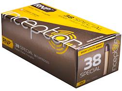 Polycase Inceptor Sport Utility Ammunition 38 Special 84 Grain Frangible RNP Lead-Free