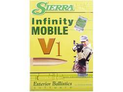"""Sierra """"Infinity Exterior Ballistic Software Mobile Edition Version 1"""" CD-ROM"""