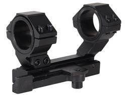 "NcStar 1-Piece Quick-Release Scope Mount Weaver-Style with Integral 30mm Rings and 1"" Inserts Fla..."