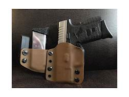 Lenwood Leather Full Battle Dress Holster with Mag Pouch