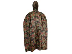 Military Surplus Swiss Wet Weather Poncho Alpenflage Camo