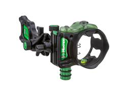 "IQ Pro Hunter 3-Pin Bow Sight with Retina Lock .019"" Pin Diameter Right Hand Black"