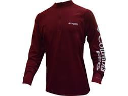 Columbia Men's PFG Terminal Tackle 1/4 Zip Shirt Long Sleeve Polyester