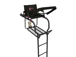 X-Stand The Huntress Single Ladder Treestand Steel Black