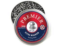 Crosman Premier Airgun Pellets 22 Caliber 14.3 Grain Domed Tin of 500