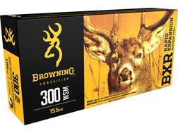 Browning BXR Rapid Expansion Ammunition 300 Winchester Short Magnum (WSM) 155 Grain Matrix Tip