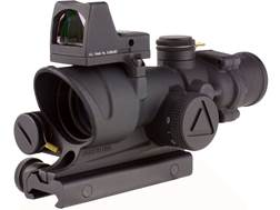 Trijicon ACOG Rifle Scope 4x 32mm LED Illuminated Red Crosshair 223 Remington Reticle with 3.25 M...