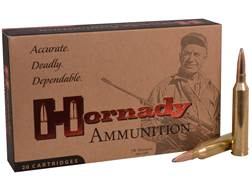 Hornady Custom Ammunition 264 Winchester Magnum 140 Grain Interlock Spire Point Box of 20