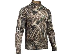 Under Armour Men's UA Franchise Camo 1/4 Zip Shirt Long Sleeve Polyester