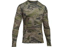Under Armour Men's UA Mid-Season Reversible Wool Base Layer Crew Shirt Long Sleeve