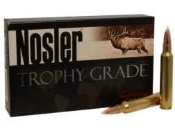 Nosler Trophy Grade Ammunition 338 Remington Ultra Magnum 250 Grain AccuBond Box of 20