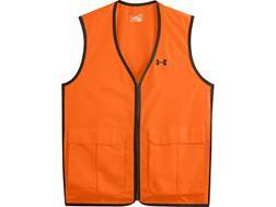 Under Armour Men's Antler Logo Safety Vest Polyester Blaze Orange