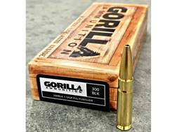 Gorilla Pig Punisher Ammunition 300 AAC Blackout 110 Grain Solid Copper Fragmenting Lead-Free