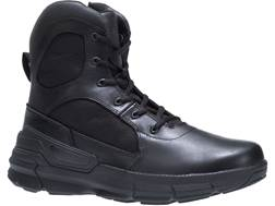 "Bates Charge 6"" Side-Zip Tactical Boots Leather/Nylon"