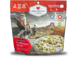 Wise Food Outdoor Noodles & Beef Freeze Dried Food Pack of 6